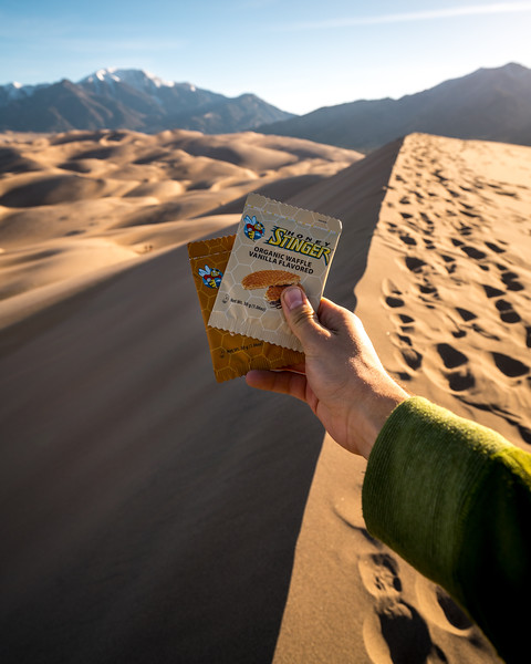 Frankieboy Photography |  Honey Stinger Travel Snack | Product and Brand Photography
