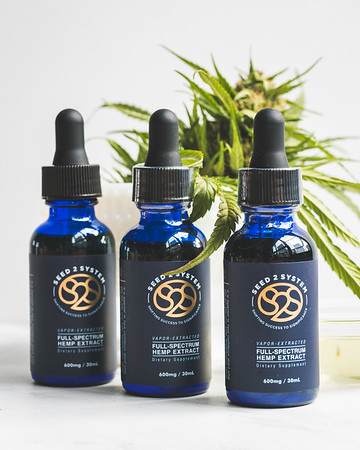 Seed2System   Hemp Extract   Product Photography