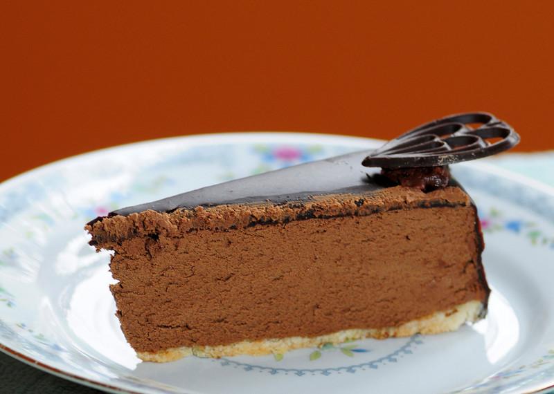 Silk cake -  orange back drop