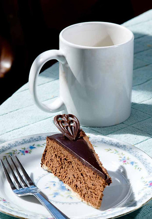 Silk Cake and Coffee