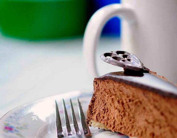Silk Cake - selective focus