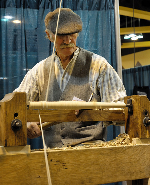 "Master Bodger and all-around cool character, Don Weber. If you don't know much about Don, watch this episode  <a href=""http://www.pbs.org/woodwrightsshop/video/2800/2812.html"">http://www.pbs.org/woodwrightsshop/video/2800/2812.html</a>) of The Woodwright's shop. We need more people like Don at WIA."