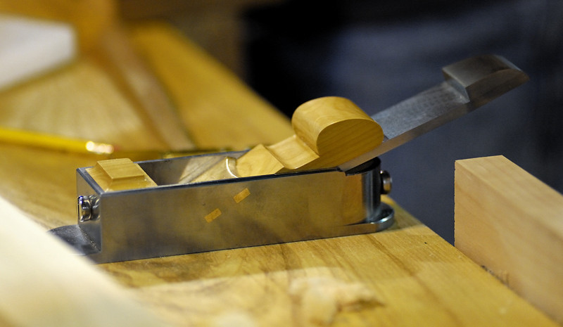 Daed Toolwork's miter planes.Yeah, it performed flawlessly. Just as it looks.