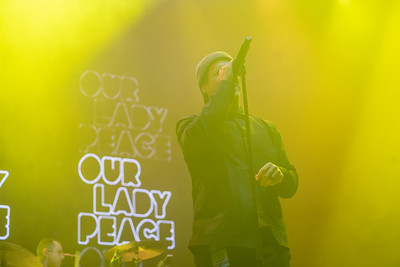 Our Lady Peace opens for Bush + Live, October 15, 2019