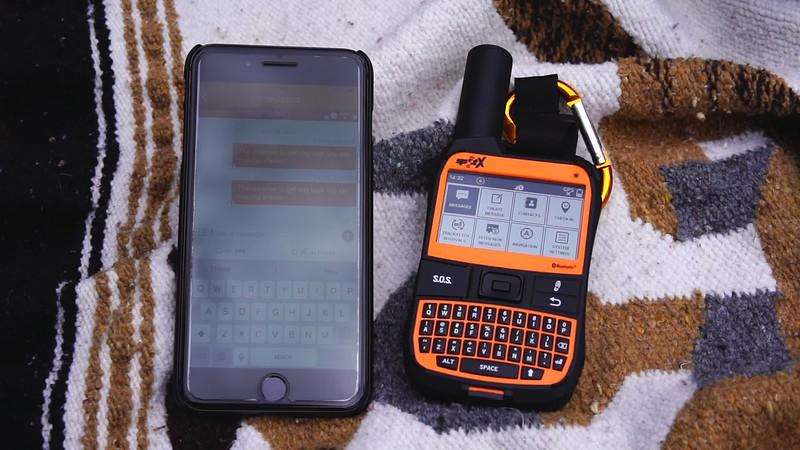 Spot X BT Sending Messages