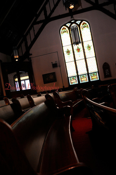 The inside of St. John's United Methodist Church, Coal Township. Palm Sunday worship will be the last held in the 103-year-old church.