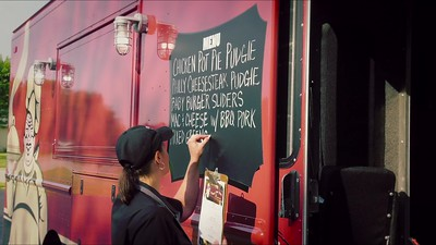 Pudgie Truck - standard screen