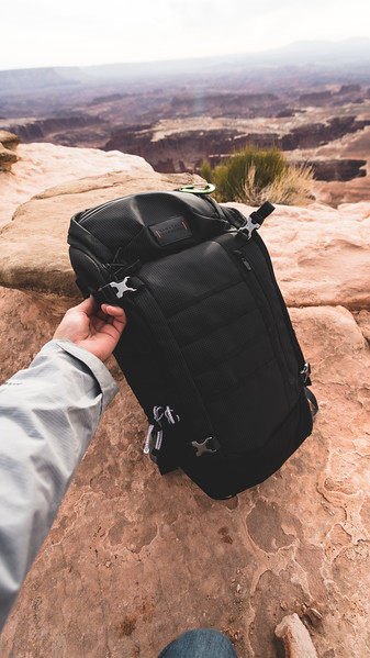 Mountain Standard Utility Backpack | Product and Brand Photography