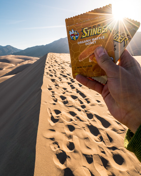 Honey Stinger Energy Waffle | Product and Brand Photography