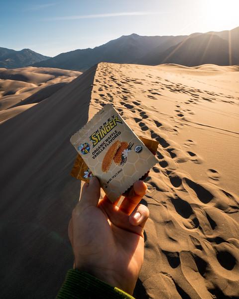 Honey Stinger Organic Vanilla Waffle | Product and Brand Photography