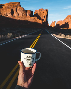"""The Adventure Begins"" Mug 