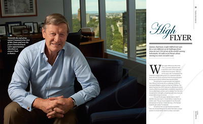 ANZ Private Magazine Qantas Chairman Leigh Clifford