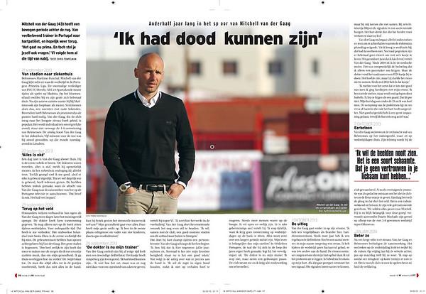 Voetbal magazine