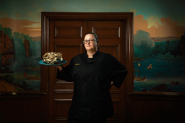 Kim Moyle, Executive Chef for Denver's Brown Palace