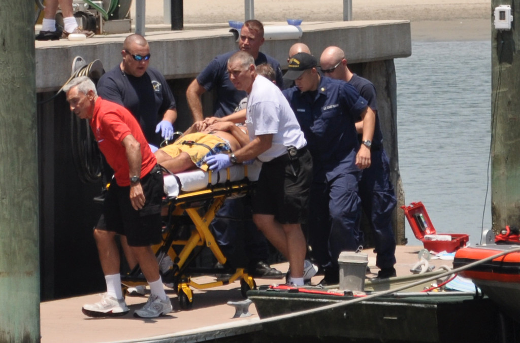 One of several shots I took of a 2011 Coast Guard rescue of a heart attack victim. The photos were picked up by the local ABC-TV affiliate and newspapers.