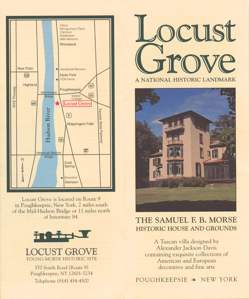 I did all of the advertising photography, signage and logo design for the Locust Grove site in NY during the 1990's.