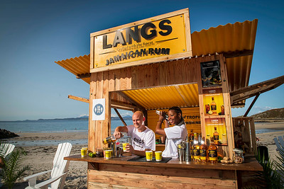 19/09/20….Free Picture to use. Visitors to Camusdarach Beach in Scotland enjoying a slice of the Caribbean with the Langs Jamaican Rum Shack- for more information please contact The Wire agency- hamish@wearewire.co 07806637138