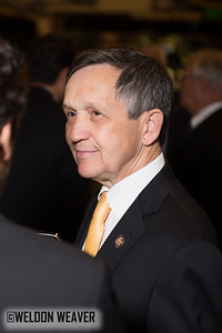 Congressman Dennis Kucinich (D-OH).  DNC  Tues Sept. 4, 2012.  Charlotte NC.  Photo by Weldon Weaver.