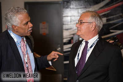 Congressman Barney Frank (D-MA).   Tues Sept. 4, 2012.  Charlotte NC.  Photo by Weldon Weaver.