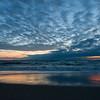 Cloudy Blue Sunrise