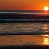 Neon Orange Sunset