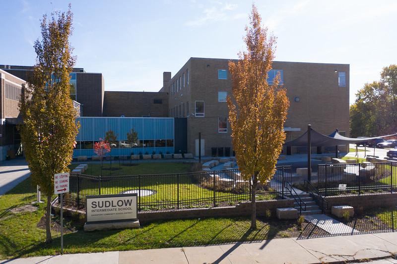 Sudlow Intermediate Outside Classroom