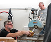 Hot Glass with Visiting Artosts Alex Stisser and John Miller.