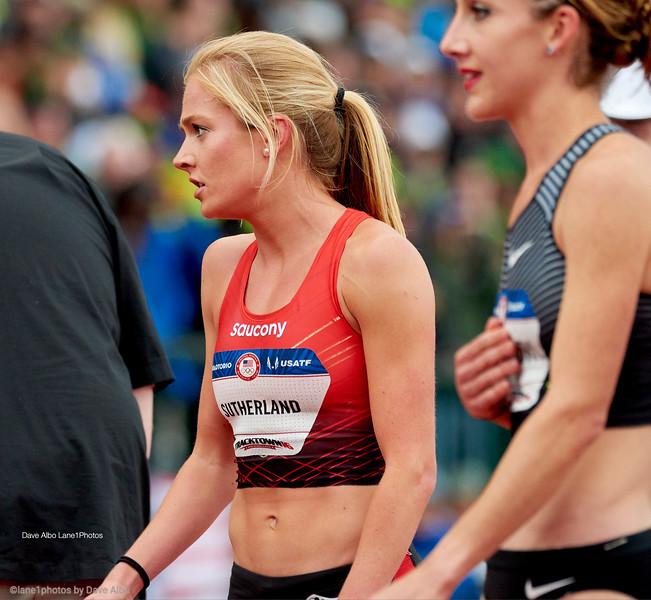 1500 meter finals, USATF Olympic Trials 2016