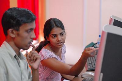I.U.G. Prbath Neranja  with a collegue and friend in Kothmale, Sri Lanka.  06110101