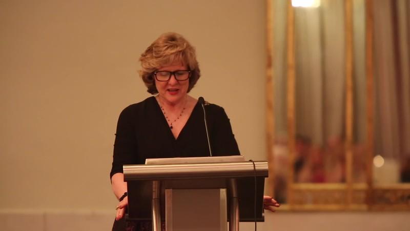 Miss Becky Kidd DallasPharma Speech Roman Gala Washington DC