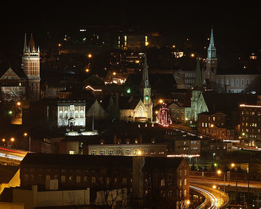 Cumberland Maryland at Christmas