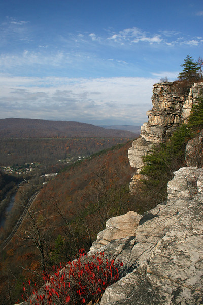 View from Lovers Leap in Cumberland