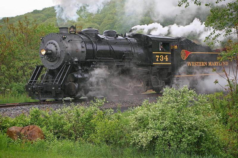WMSR photo freight 5-12-08