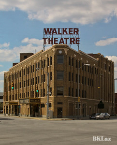 view of Walker Theater