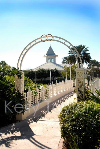 Wedding Chapel Grand Floridian Resort Orlando Florida