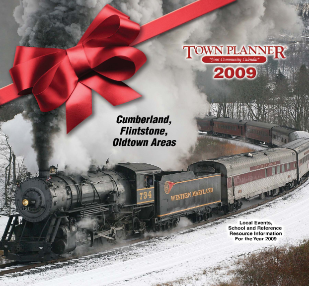 2009 Tristate Town Planner calendar cover (and inside images)
