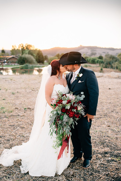 Bold Country Wedding