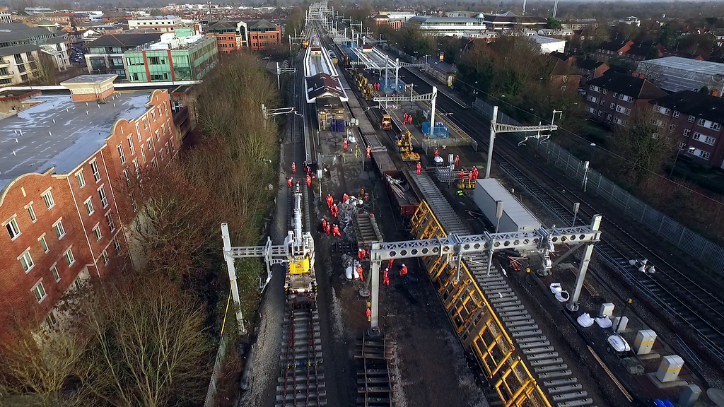 Aerial Filming of Works at Silco Drive Depot, Maidenhead