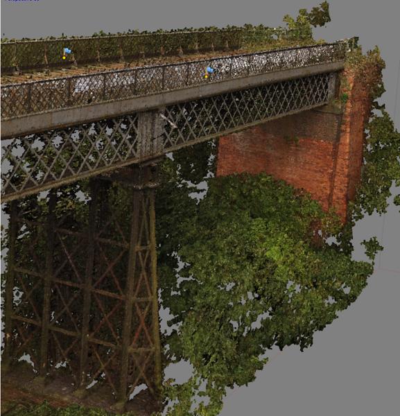 Digitising Bennerley Viaduct