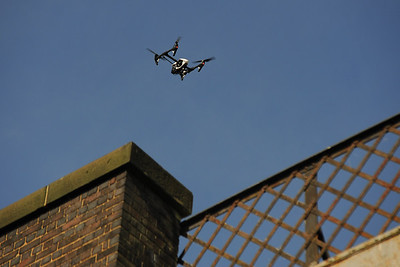 Coordinated UAV data capture of Bennerley Viaduct