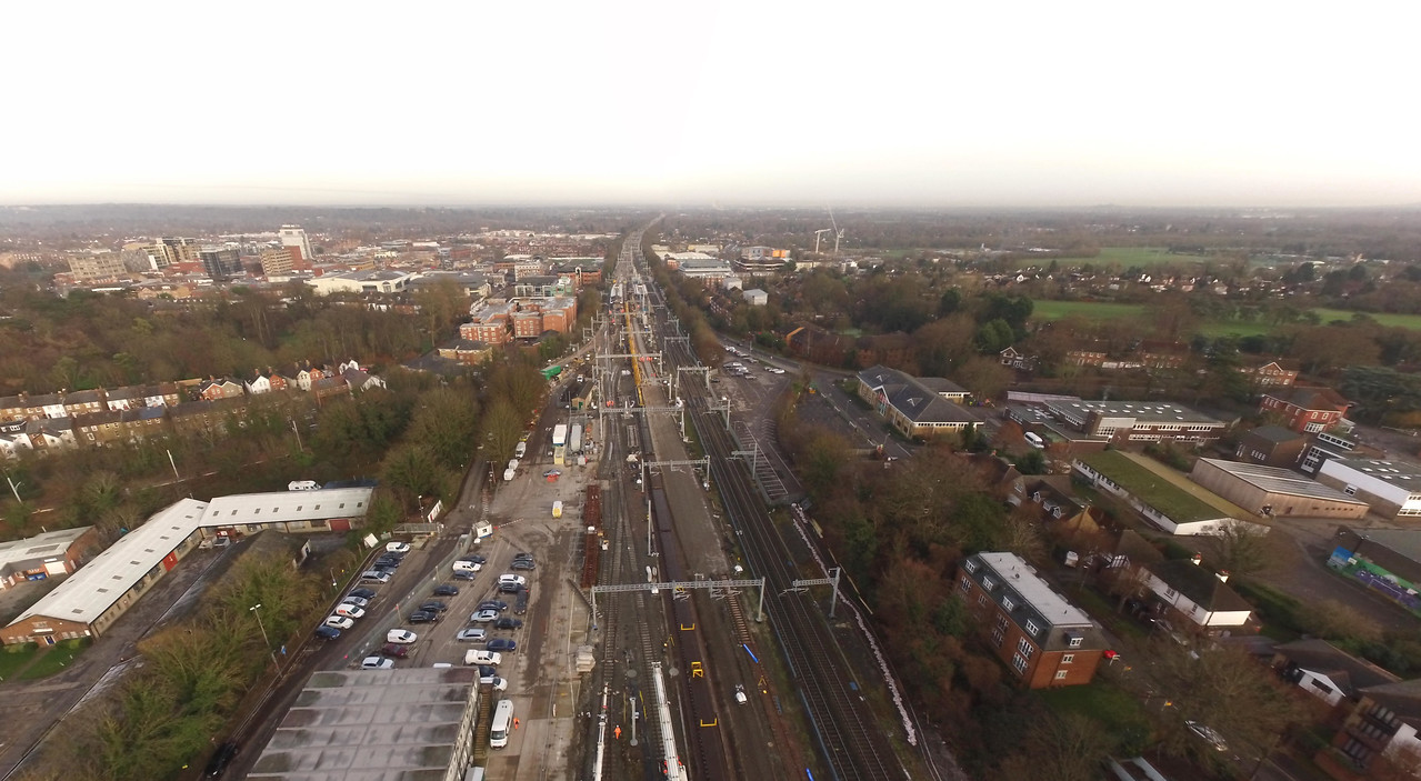 Bridgeway Aerial is re-authorised to operate UAVs on and around the rail infrastructure