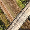 Photorealistic 3D point cloud of Bennerley Viaduct generated from combined terrestrial scanning and aerial photogrammetry