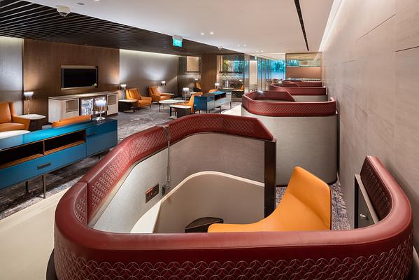 Qatar Airways Premium Lounge Changi T1