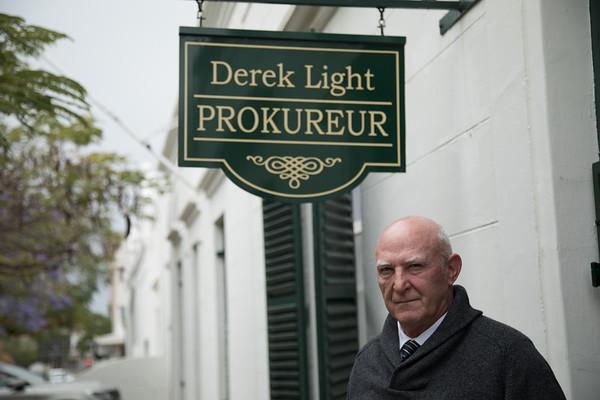 Derek Light, laywer.