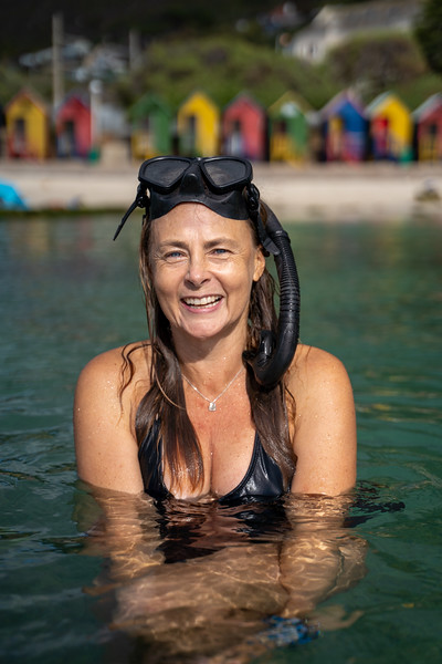 Lisa Beasley,  free diver and founder of Cape Town Tidal Pools