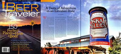 Beer Traveler Magazine Centerfold
