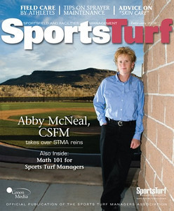 Sports Turf Managers Association Magazine Cover