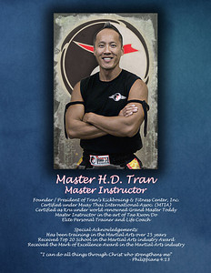 Bio for Master Tran - Tran's Kickboxing & Fitness franchises, CO.  http://trans-mafc.com/