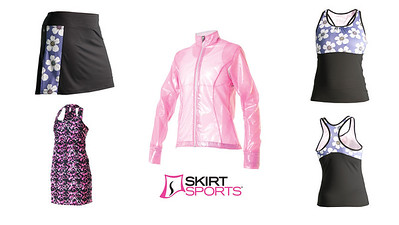 Skirt Sports Catalog and Website Images