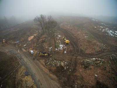 ARCO Construction Shrewsbury March 2017 (Aerial)